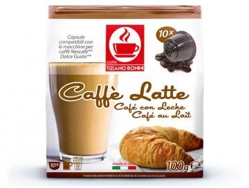 Caffè Latte (Milchkaffee) für Dolce Gusto Maschinen ( 50 Kapseln )
