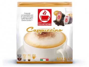 Caffè Cappuccino für Dolce Gusto Maschinen (5 Portionen = 10 Kapseln)