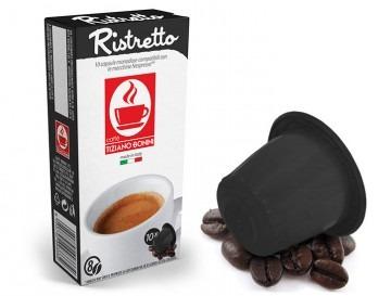 Kaffee Ristretto für Nespresso Maschinen ( 10 Kapseln )