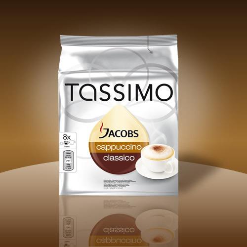 Tassimo  Jacobs Cappuccino classico 16 T DISCS