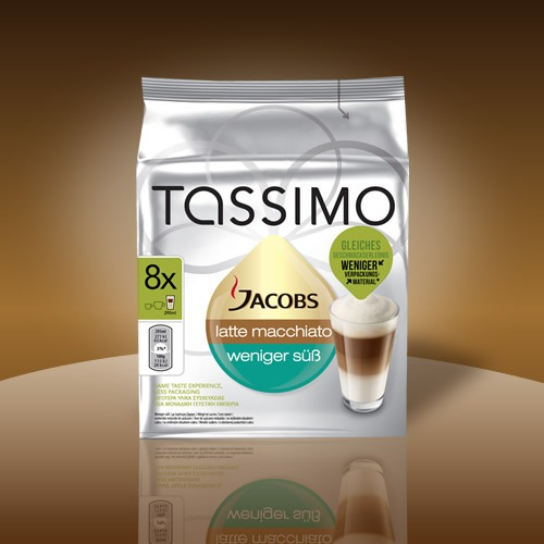 Tassimo Latte Macchiato weniger süß