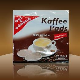 Gut und Günstig Entkoffeeiniert Kaffee Pads